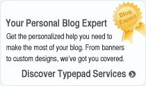 Discover Typepad Services