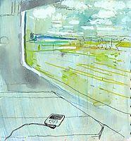 Train window